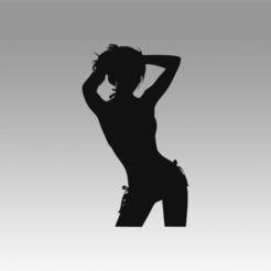 Descargar diseños 3D Logotipo de la chica, Blackeveryday