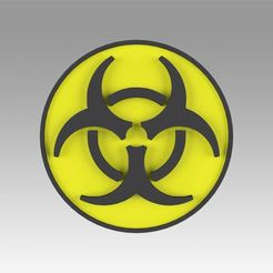 1.jpg Download OBJ file Biohazard symbol Signs • 3D printable object, Blackeveryday