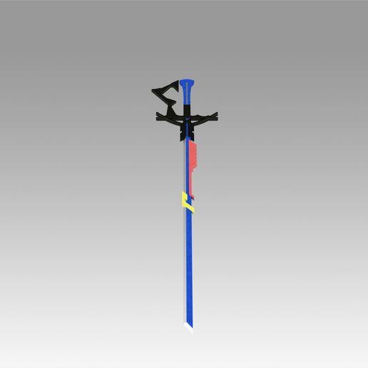 5.jpg Download OBJ file Arknights Astesia Epoque Sword Cosplay Weapon Prop  • 3D printable template, Blackeveryday