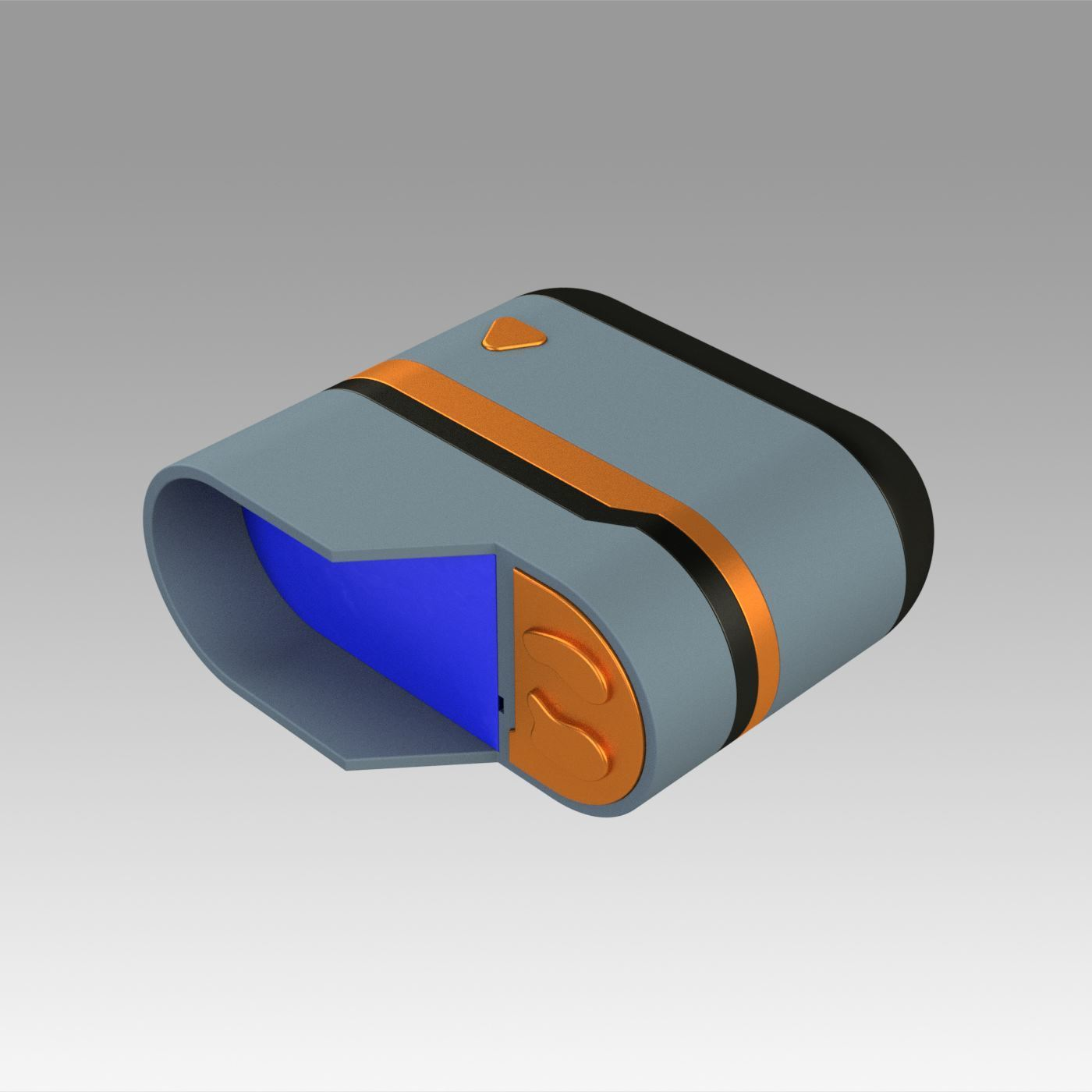 2.jpg Download OBJ file Star Trek Prop Dr Phlox Scanner replica prop cosplay • 3D printer object, Blackeveryday