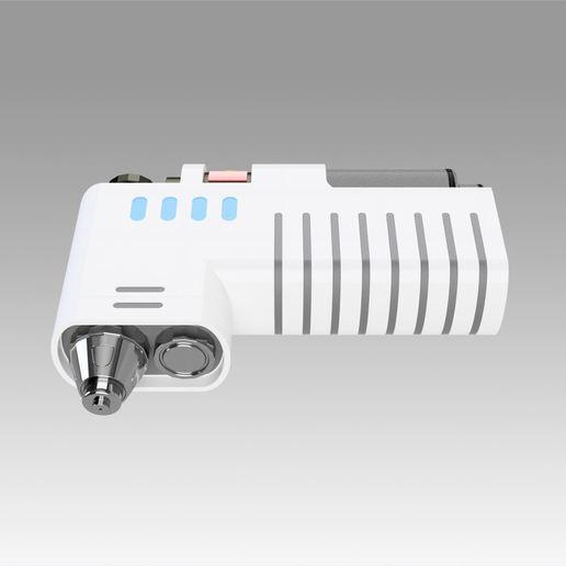 7.jpg Download OBJ file Star Trek Discovery Hypo Spray replica prop cosplay • 3D printable model, Blackeveryday