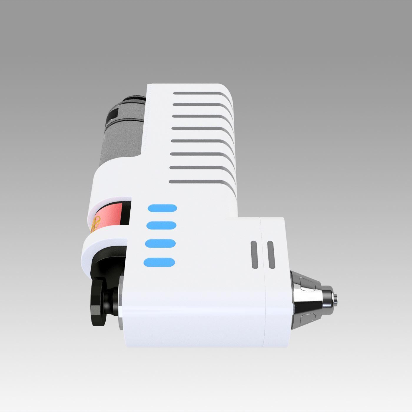 5.jpg Download OBJ file Star Trek Discovery Hypo Spray replica prop cosplay • 3D printable model, Blackeveryday
