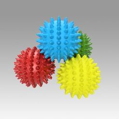 3D printer files Massage ball, Blackeveryday