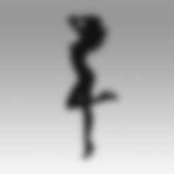 3D printer models Girl logo, Blackeveryday