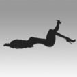 Objet 3D Logo fille, Blackeveryday