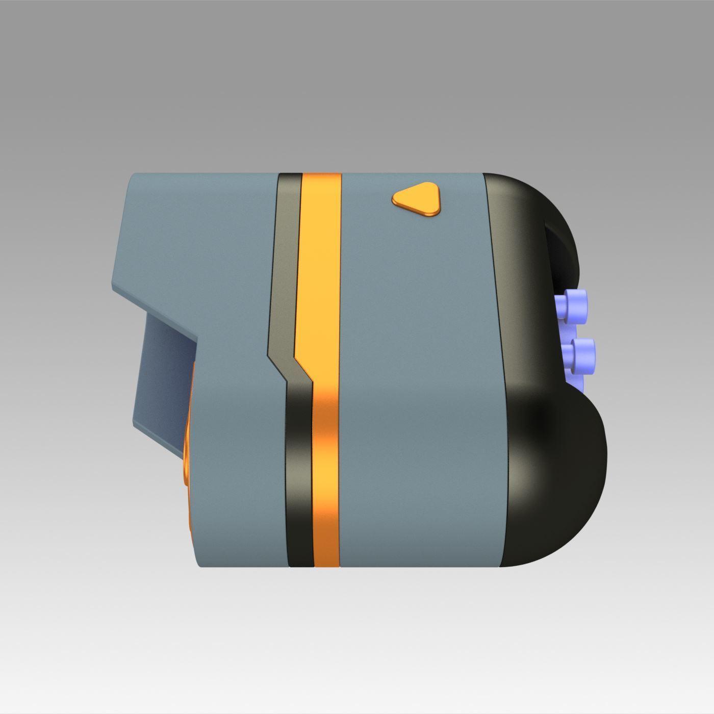 3.jpg Download OBJ file Star Trek Prop Dr Phlox Scanner replica prop cosplay • 3D printer object, Blackeveryday