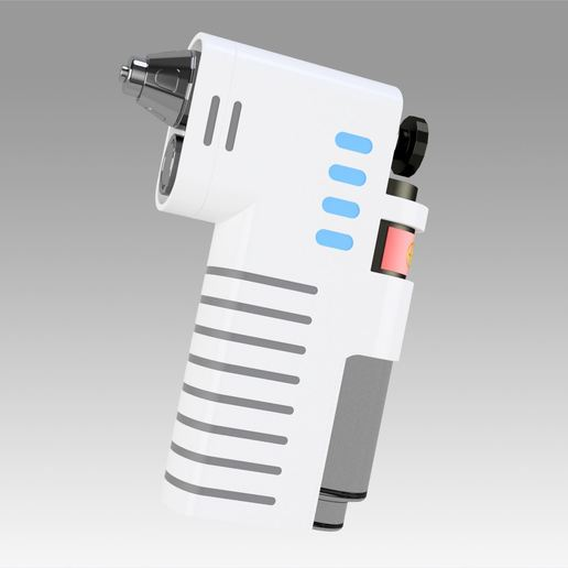 1.jpg Download OBJ file Star Trek Discovery Hypo Spray replica prop cosplay • 3D printable model, Blackeveryday