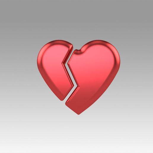 Descargar STL Amor de corazón roto, Blackeveryday