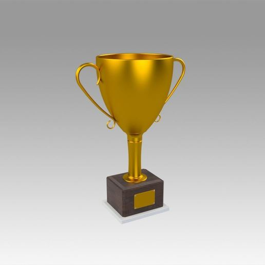 Download STL file Golden Trophy, Blackeveryday