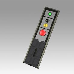 Download 3D printing templates Star Trek Enterprise Remote Control or Hand Held Button Control, Blackeveryday