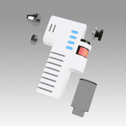 10.jpg Download OBJ file Star Trek Discovery Hypo Spray replica prop cosplay • 3D printable model, Blackeveryday