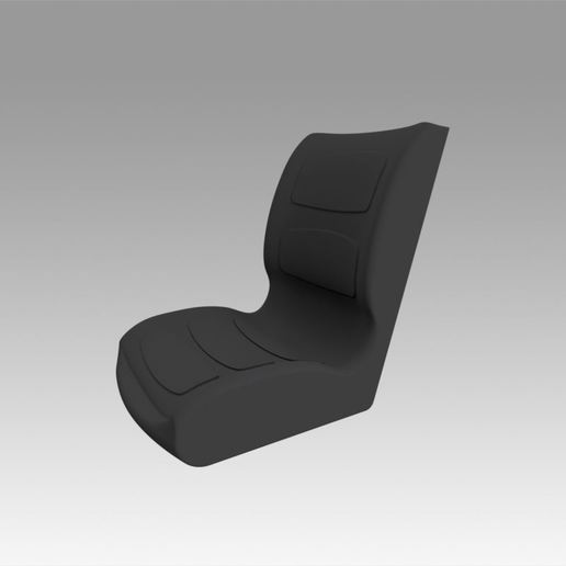 1.jpg Download OBJ file loader excavator seat • 3D printing object, Blackeveryday