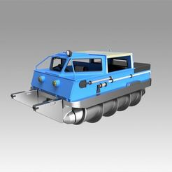 Download 3D printing files Screw terrain vehicle ZIL-2906 , Blackeveryday