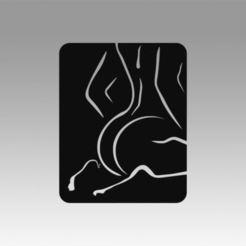 Archivos 3D Logotipo de la chica, Blackeveryday