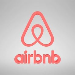 Download STL file Airbnb logo, Blackeveryday