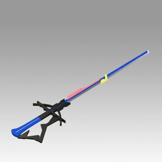 2.jpg Download OBJ file Arknights Astesia Epoque Sword Cosplay Weapon Prop  • 3D printable template, Blackeveryday