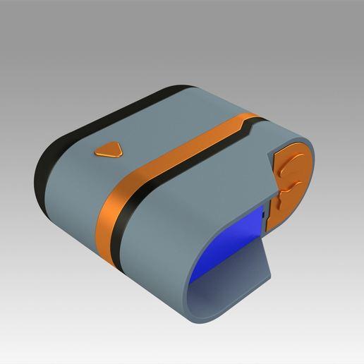 8.jpg Download OBJ file Star Trek Prop Dr Phlox Scanner replica prop cosplay • 3D printer object, Blackeveryday