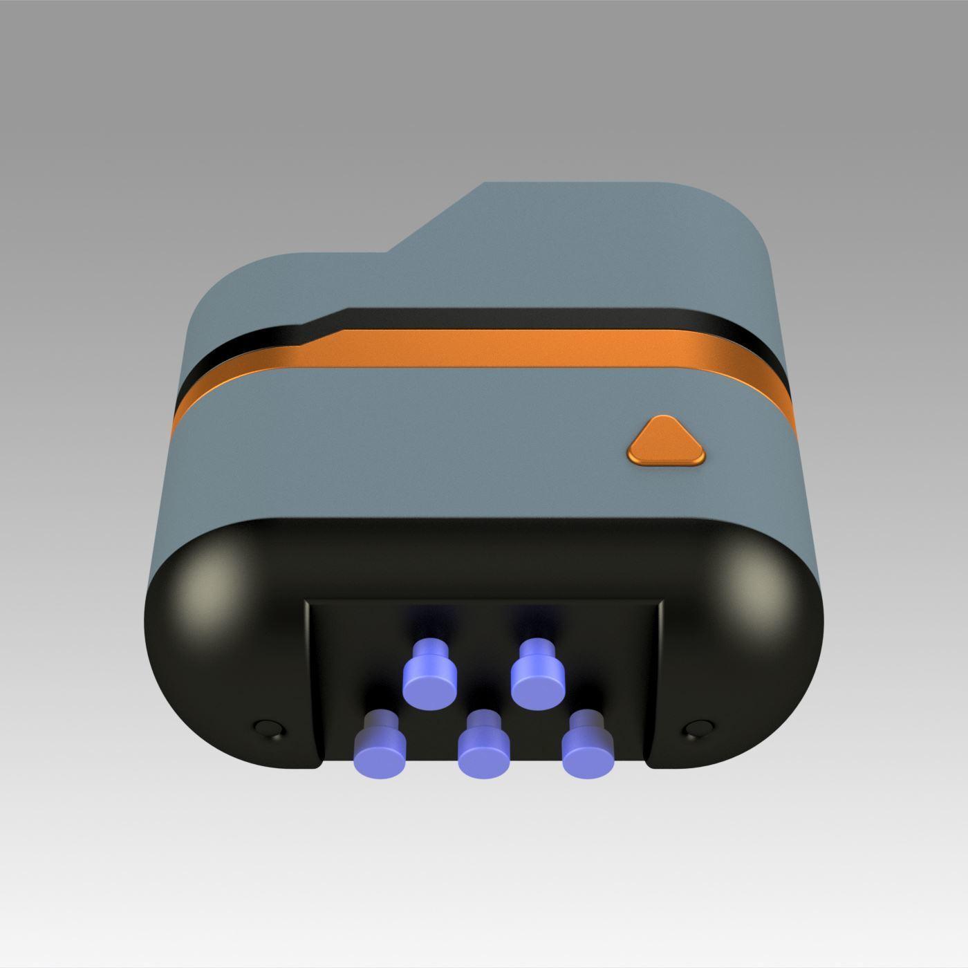 5.jpg Download OBJ file Star Trek Prop Dr Phlox Scanner replica prop cosplay • 3D printer object, Blackeveryday