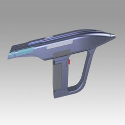 Download 3D printer model Star Trek The Next Generation Romulan Disruptor, Blackeveryday