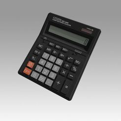 Download 3D printing files Electronic Calculator, Blackeveryday