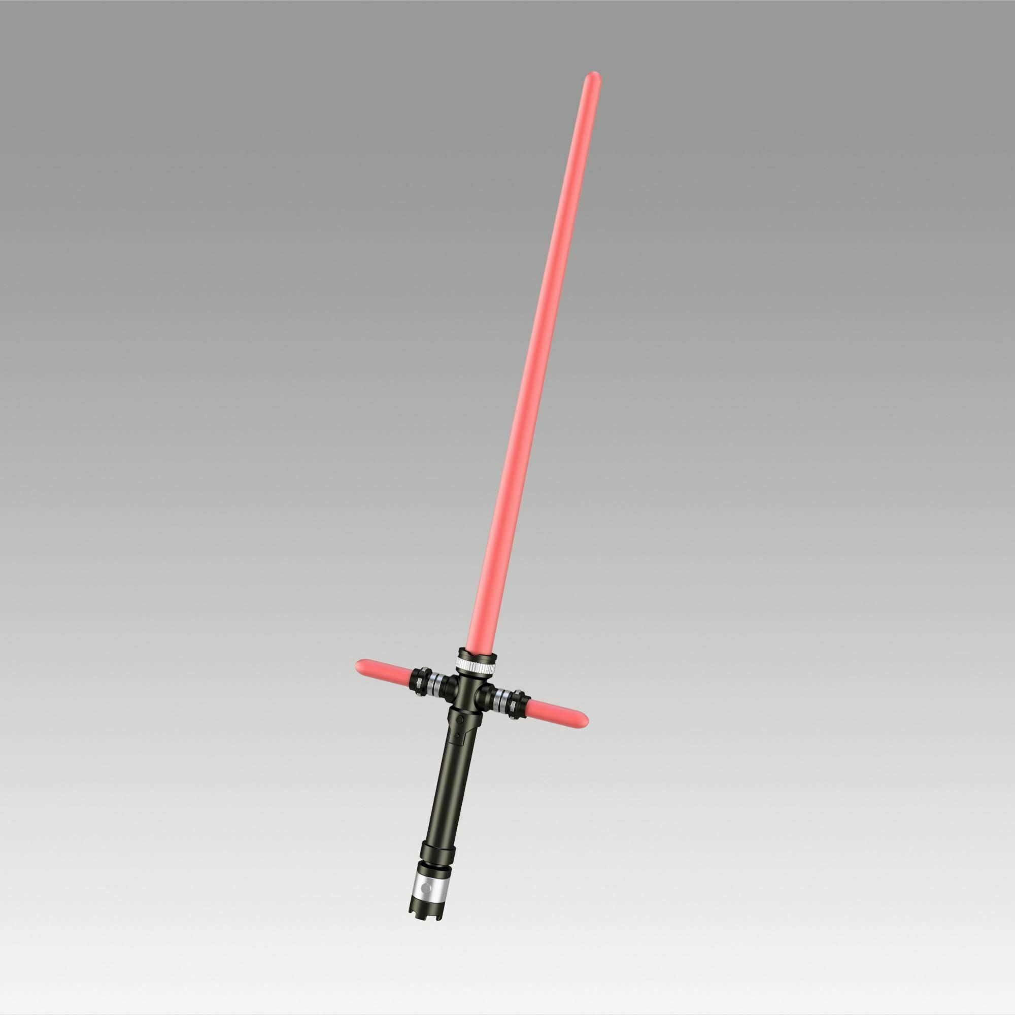 1.jpg Download OBJ file Star Wars VII The Force Awakens Kylo Ren Sword Cosplay Prop • 3D printer object, Blackeveryday