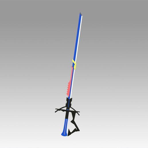 1.jpg Download OBJ file Arknights Astesia Epoque Sword Cosplay Weapon Prop  • 3D printable template, Blackeveryday