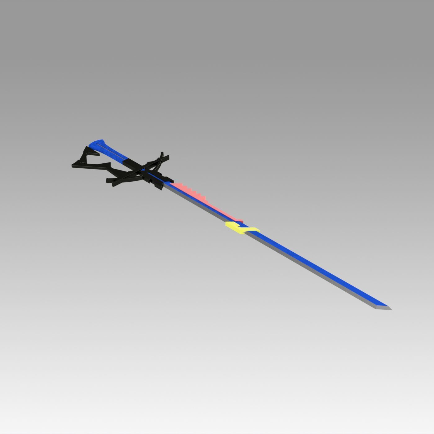 4.jpg Download OBJ file Arknights Astesia Epoque Sword Cosplay Weapon Prop  • 3D printable template, Blackeveryday