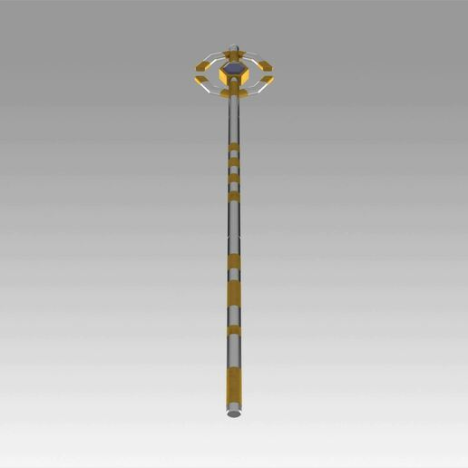 9.jpg Download OBJ file World of Warcraft WOW Mage Staves Cosplay Weapon Prop • 3D printing model, Blackeveryday