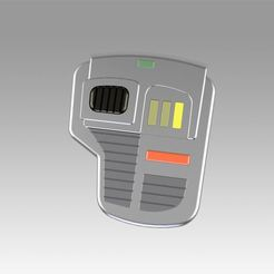 Download 3D printing designs Star Trek Voyager Neural Stimulator Cosplat prop replica, Blackeveryday