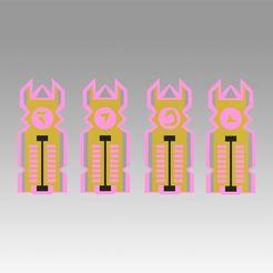 Descargar STL Star Trek Generations Chips ópticos isolineales de Klingon, Blackeveryday
