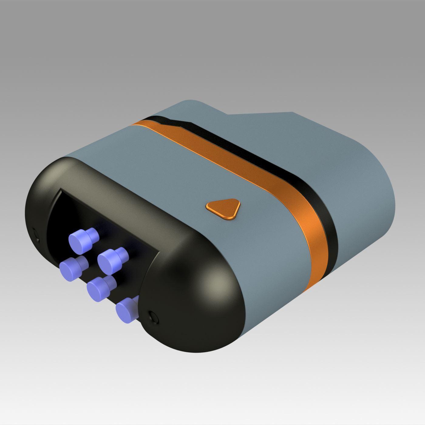 6.jpg Download OBJ file Star Trek Prop Dr Phlox Scanner replica prop cosplay • 3D printer object, Blackeveryday