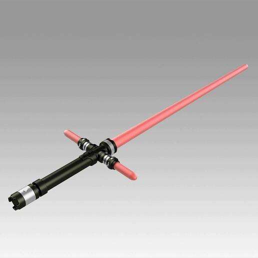 2.jpg Download OBJ file Star Wars VII The Force Awakens Kylo Ren Sword Cosplay Prop • 3D printer object, Blackeveryday