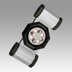 1.jpg Download OBJ file Star Trek Into Darkness Torpedo Deactivator Cosplay prop • 3D printing template, Blackeveryday