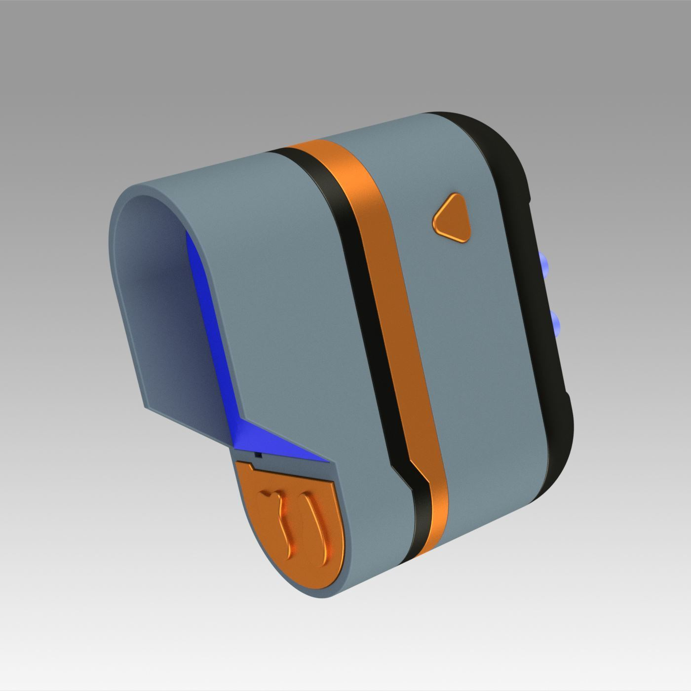 1.jpg Download OBJ file Star Trek Prop Dr Phlox Scanner replica prop cosplay • 3D printer object, Blackeveryday