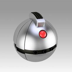 Download 3D printer files Star Wars Thermal Detonator Cosplay prop replica , Blackeveryday