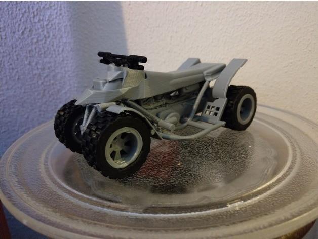 quad ds 650.jpg Download free STL file quad bombardier DS 650 • 3D printer object, jasperbaudoin
