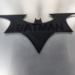 3D printer files batman logo, jasperbaudoin