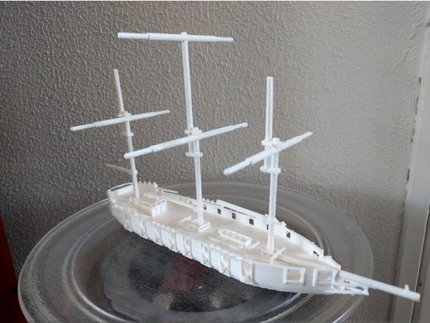 ship.jpg Download free STL file ship (battle) • 3D print design, jasperbaudoin