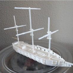 Descargar archivos 3D gratis barco (batalla), jasperbaudoin