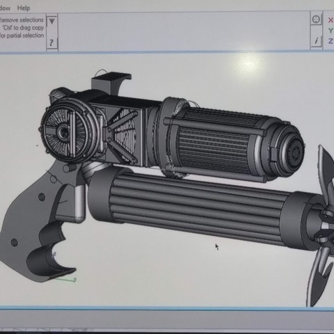 grapple 1.jpg Download STL file grapple gun (batman) • Design to 3D print, jasperbaudoin
