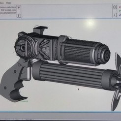 Archivos 3D pistola de agarre (batman), jasperbaudoin