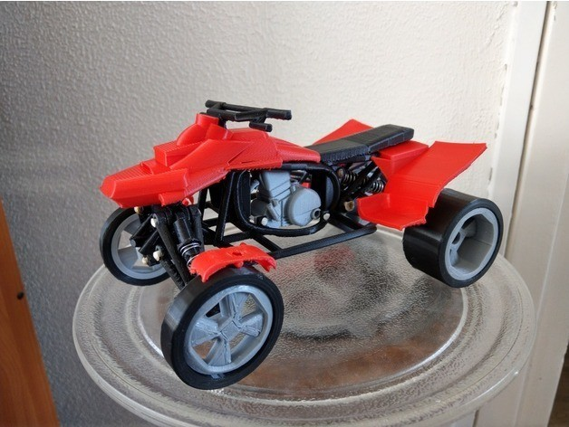 quad n.jpg Download free STL file quad (custom) • 3D printing design, jasperbaudoin