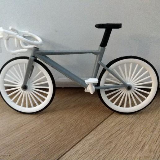 Download 3D printing models bicycle (new race model), jasperbaudoin