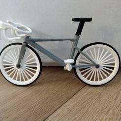 Download STL file bicycle (new race model) • 3D printable object, jasperbaudoin