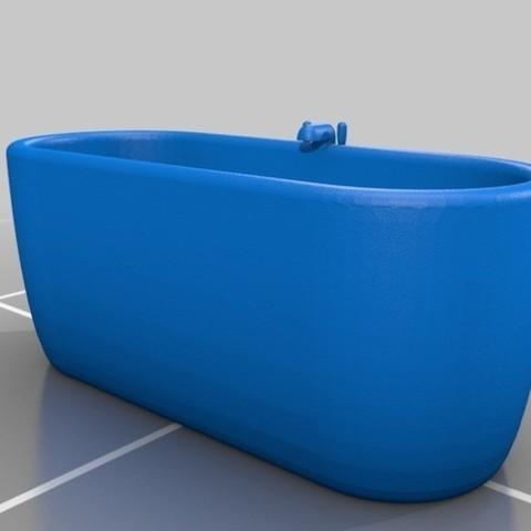 Download free 3D printer designs bath, jasperbaudoin