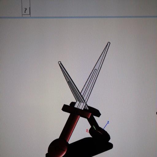 IMAG0088.jpg Download STL file  sword holder • 3D printer model, jasperbaudoin