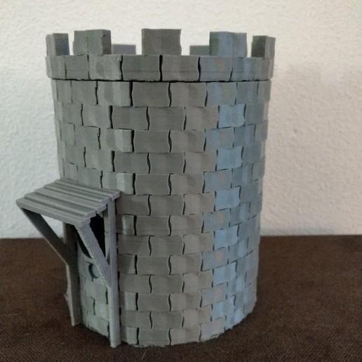 Télécharger fichier 3D conception de la tour de l'nichoir, jasperbaudoin