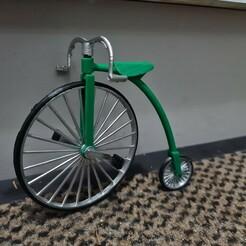 20201213_211843.jpg Download STL file bicycle (old model) • Model to 3D print, jasperbaudoin