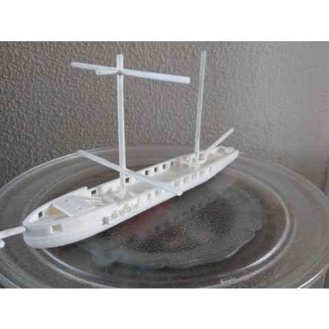 Download free 3D printer designs ship sponner, jasperbaudoin