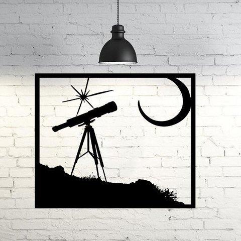 Free 3D printer files Night Stars Wall sculpture 2D, UnpredictableLab